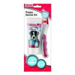 Beaphar Puppy Toothbrush & Toothpaste Dental Set